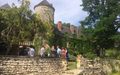 Mariage de Janne et Bas au Chateau de Raysse