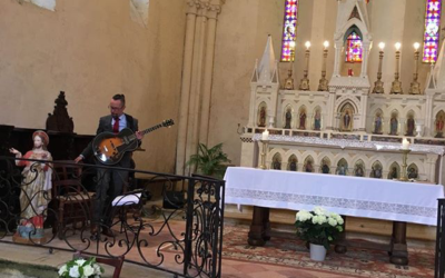 Cérémonie de Marc et Lou à l'église de Blasimon