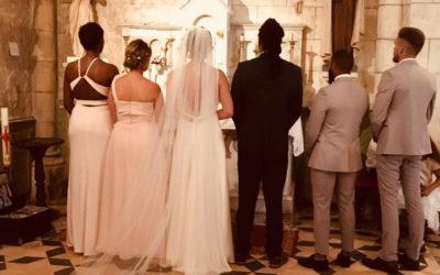 Mariage Franco Brésilien de Jair et Pauline